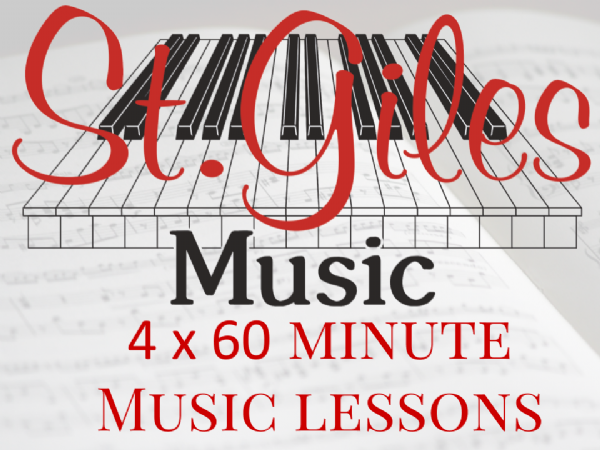 4 x 60 minute music lessons